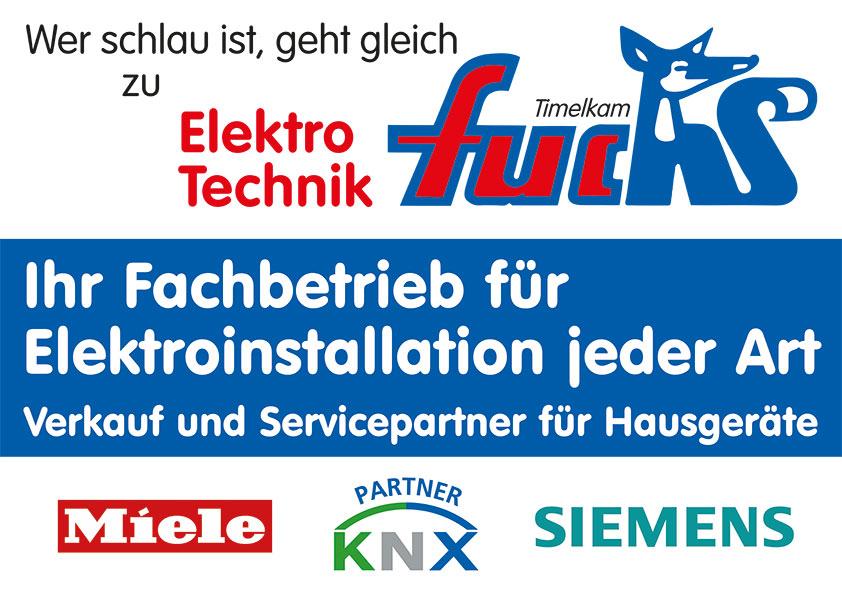 Elektro Technik Fuchs Fachbetrieb