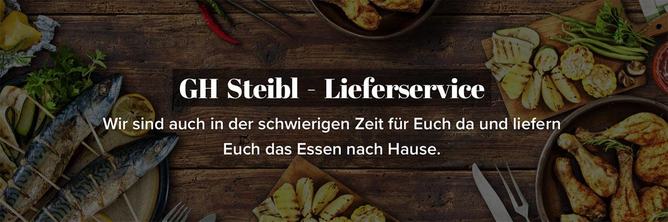 Gasthaus Steibl - Lieferservice